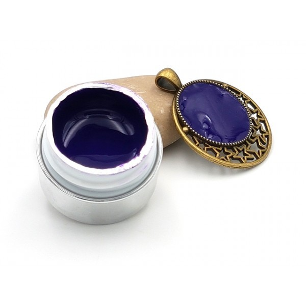 Gel Uv Opaque Couleur Violet Pour Créations En Résine - Photo n°1