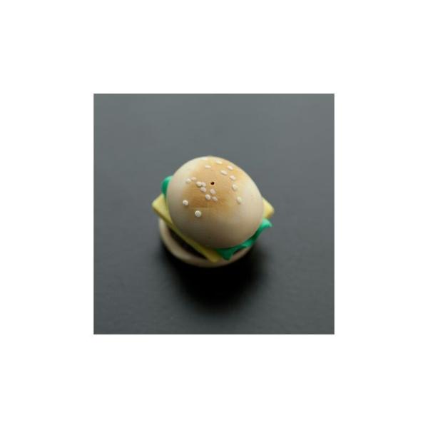 Cabochon Pendentif Polymère 20mm Hamburger x 2 - Photo n°1