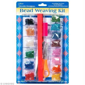 Kit de tissage avec perles