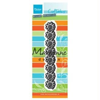 Matrice de découpe Marianne design - bordure vagues - collection Craftables