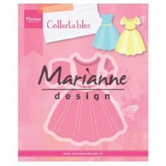 Matrice de découpe Collectables Marianne Design - Robes - 5 pcs
