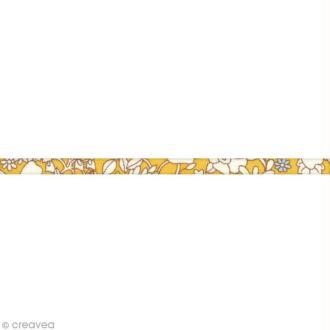 Cordon spaghetti Liberty June's meadow jaune - 3152 C - Au mètre (sur mesure)