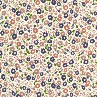 Tissu Liberty Fairford beige - 0026 E - Par 10 cm (sur mesure)