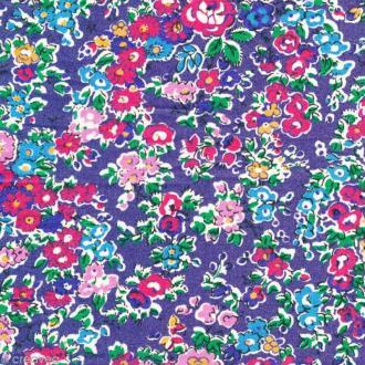 Tissu Liberty Tatum bleu  - 1082 F - Par 10 cm (sur mesure)