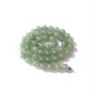 Aventurine verte : 10 perles 8 MM de diamètre