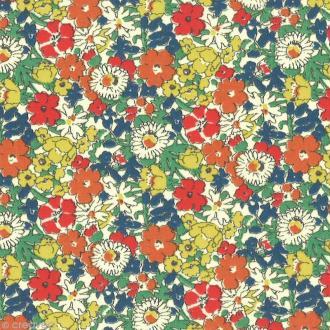 Tissu Liberty Delilah cavendish automne - 4163 C - Par 10 cm (sur mesure)