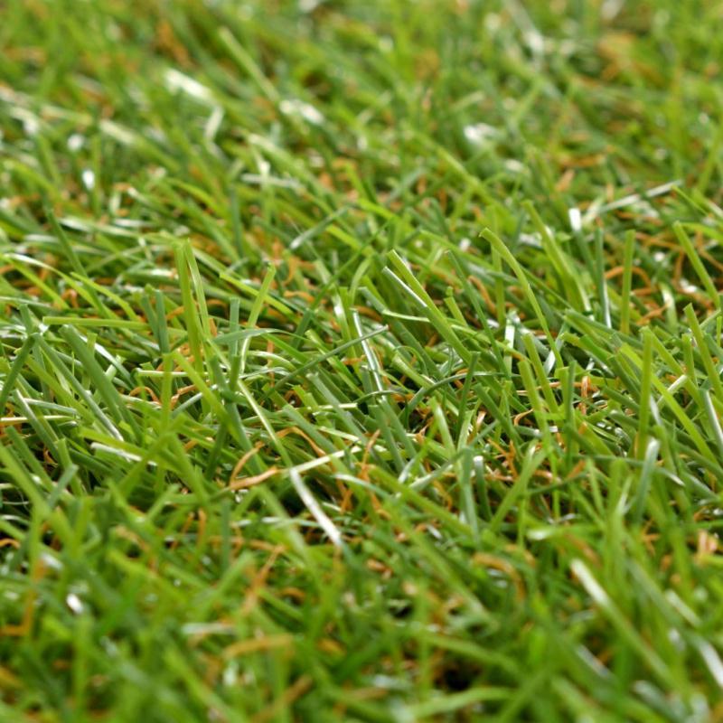 Vidaxl Carreau De Gazon Artificiel 20 Pcs 30 X 30 Cm Vert - Photo n°2