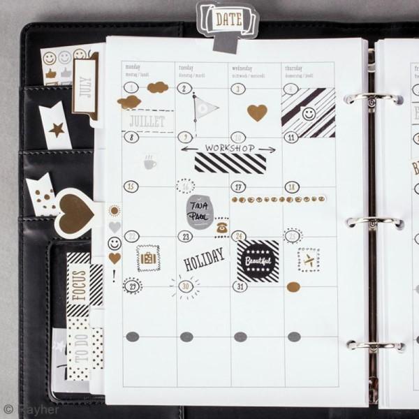 Stickers My planner - Glam - Symboles et événements - 4 planches - Photo n°2