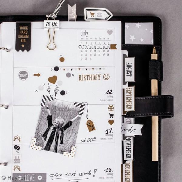 Stickers décoratifs My planner - Glam - 4 planches - Photo n°2