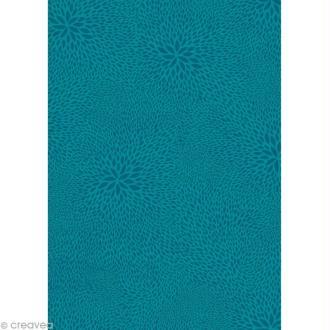 Décopatch Bleu 651 - 1 feuille