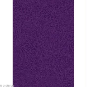 Décopatch Violet 652 - 1 feuille