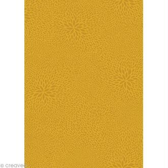 Décopatch Jaune 654 - 1 feuille