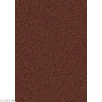 Feuille d copatch marron gris acheter papier d copatch marron gris au meilleur prix creavea - Acheter feuille de stratifie a coller ...