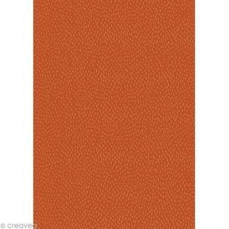Décopatch Orange 664 - 1 feuille