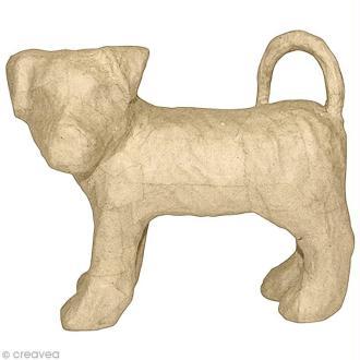 Chien Terrier 21 cm à décorer