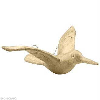 Colibri de 24 cm à décorer et à suspendre