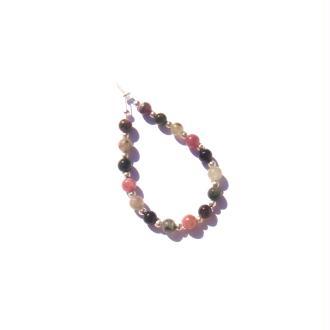 Tourmaline Multicolore : 16 perles irrégulières 4 MM de diamètre environ