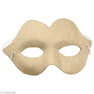 Masque Charme 17 x 9,5 cm à décorer
