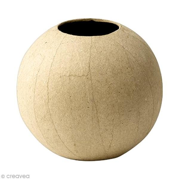 Vase boule 11 cm à décorer - Photo n°1