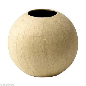 Vase boule 11 cm à décorer