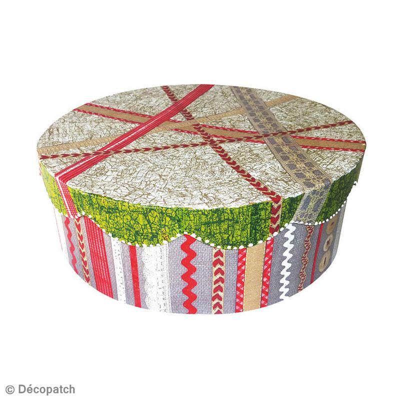 Boîte ronde 11 x 11 cm à décorer - Photo n°2