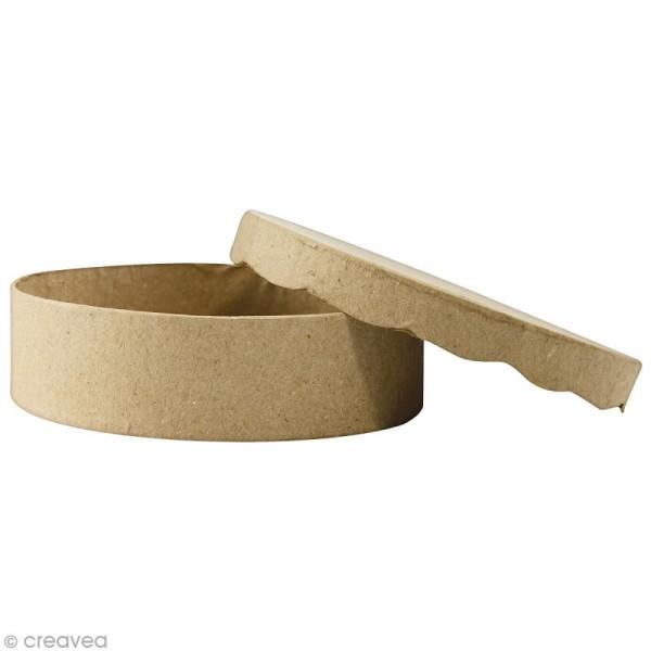 Boîte ronde 11 x 11 cm à décorer - Photo n°1