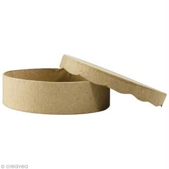Boîte ronde 11 x 11 cm à décorer