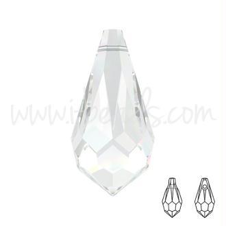 Pendentif Gouttes Facettées Swarovski Crystal 11mm (2)