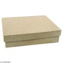Boîte rectangle 9,5 x 6,5 cm à décorer - Photo n°1