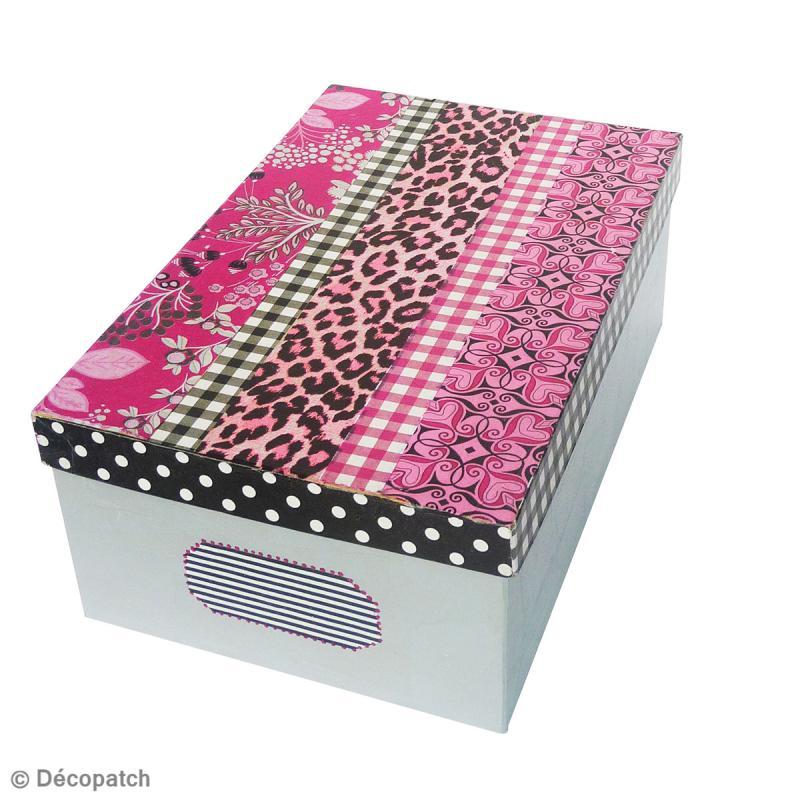 Boîte rectangle 22 x 13,5 cm à décorer - Photo n°2