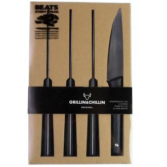 Gusta Jeu De 4 Couteaux à Steak 01137500