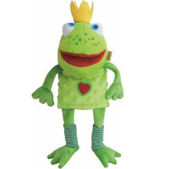 Haba Marionnette à Main Frog King 26 Cm 300490