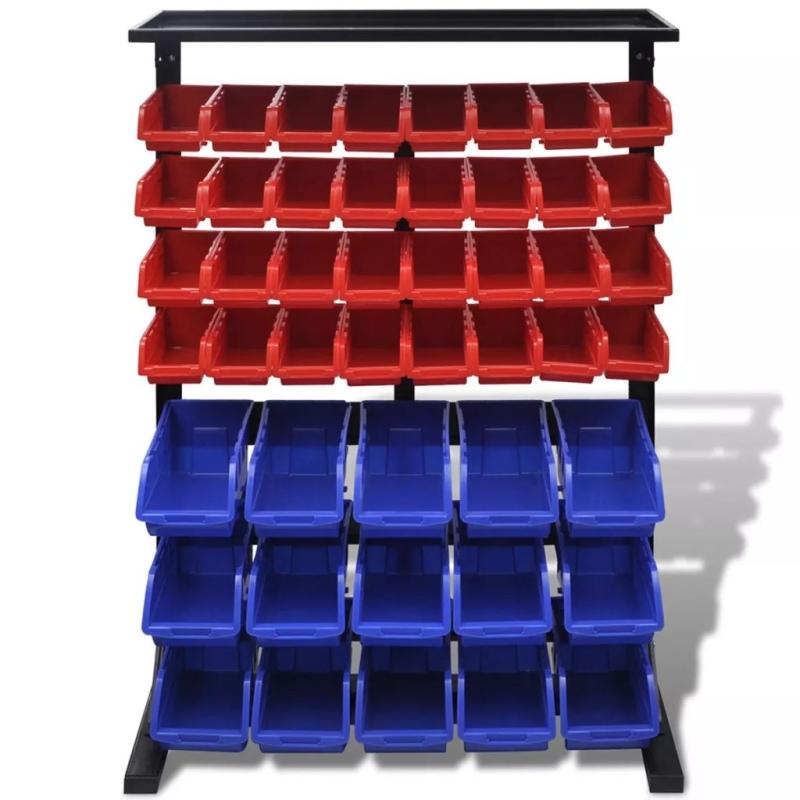 etag re bac bec combinaison murale bleu et rouge quincaillerie creavea. Black Bedroom Furniture Sets. Home Design Ideas