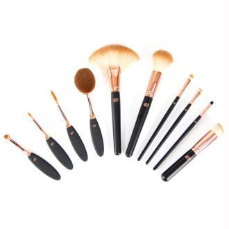 Rio Set de dix pièces de pinceaux de maquillage BRCO