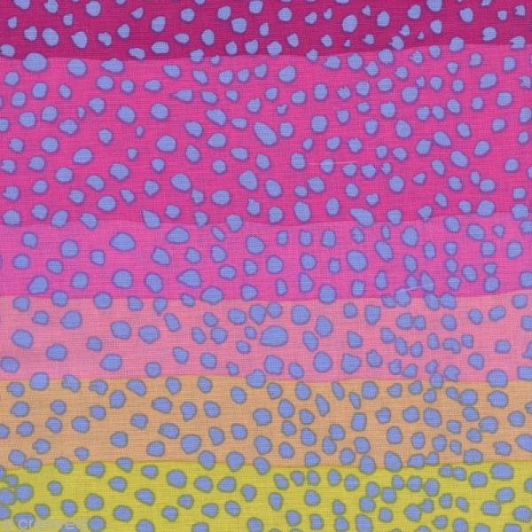 Tissu Kaffe Fassett - Ombré Pink - Par 10 cm (sur mesure) - Photo n°1