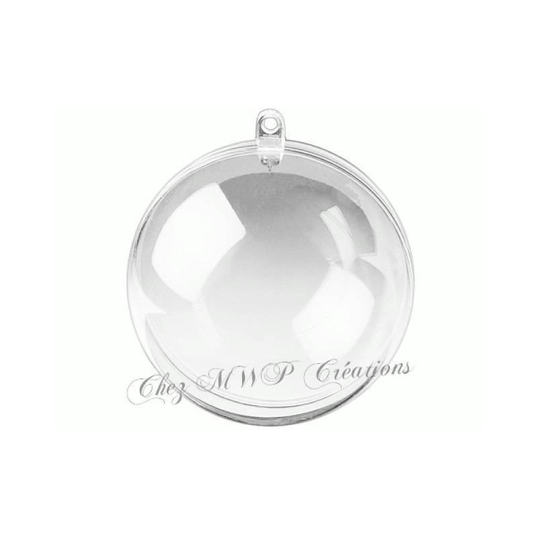 Boule Pvc Acrylique Divisible/2Parties - Plusieurs Tailles Disponible - Photo n°1