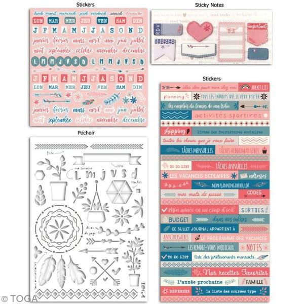 Kit Bullet Journal Toga - Vie quotidienne - 10 pcs - Photo n°2