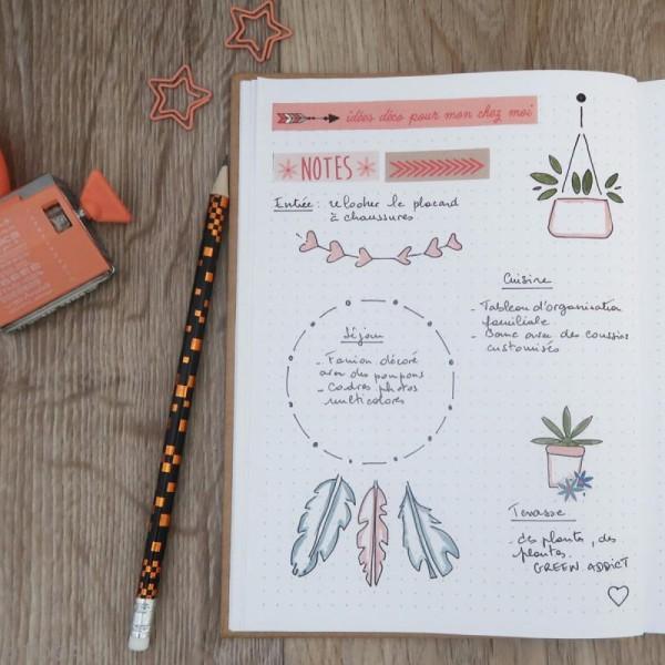 Kit Bullet Journal Toga - Happy life - 10 pcs - Photo n°3