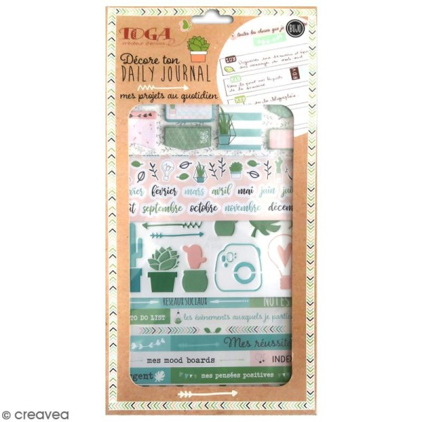 Kit Bullet Journal Toga - Mes projets - 10 pcs - Photo n°1