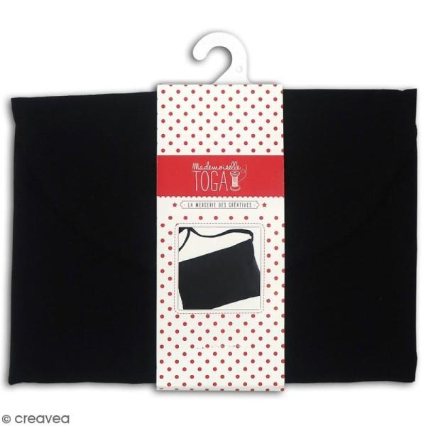 Pochette en tissu - Noir - 26 x 17 cm - Photo n°1