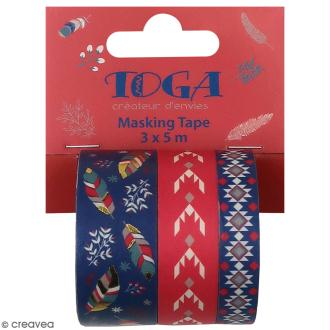 Masking tape Toga - Hygge - 3 pcs