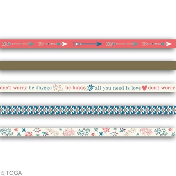 Masking tape slim Toga - Vie quotidienne - 5 pcs - Photo n°2