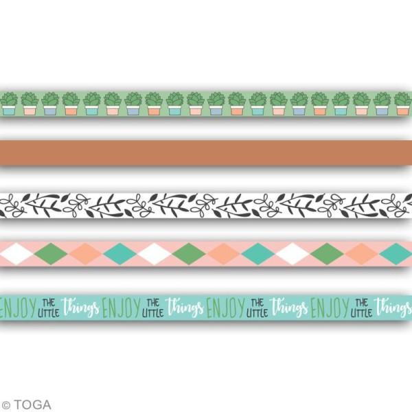 Masking tape slim Toga - Mes projets - 5 pcs - Photo n°2
