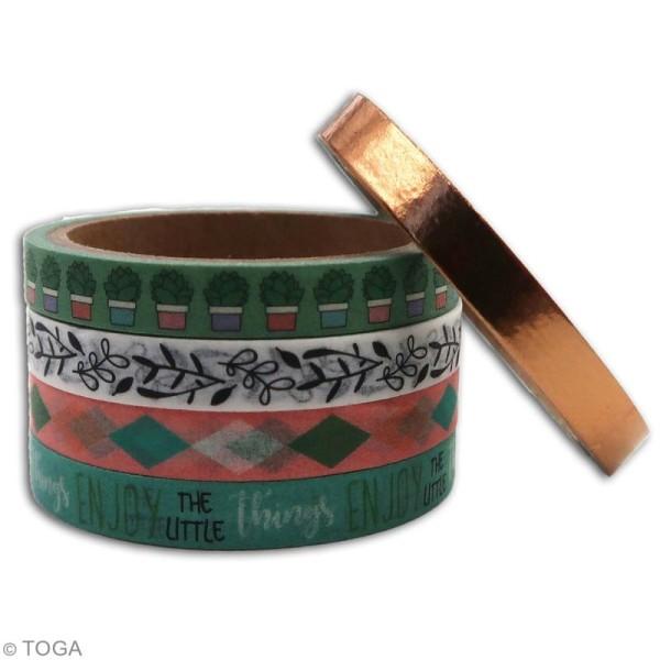 Masking tape slim Toga - Mes projets - 5 pcs - Photo n°3