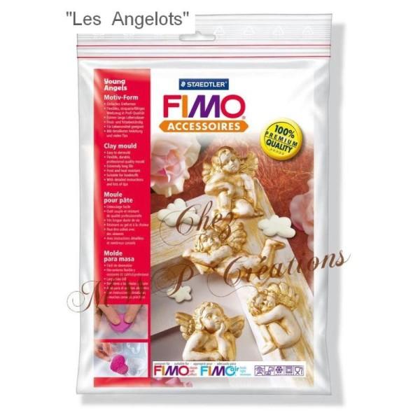 Fimo Accessoires - Moules Pour Pâte Fimo - Angelots - Photo n°2
