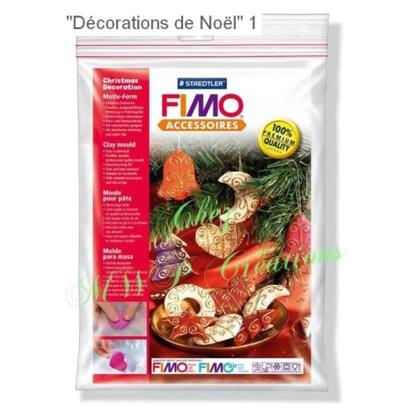 Fimo Accessoires - Moules Pour Pâte Fimo - Décorations noël - Photo n°2