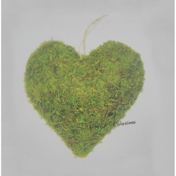 Coeur En Mousse