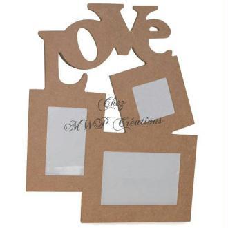 Pêle-Mêle En Carton Papier Mâché (38X30X1Cm)