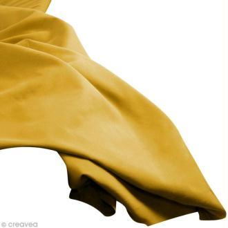 Tissu uni Or mat (Spark gold) 100% coton - Largeur 114 cm - Par 10 cm (sur mesure)