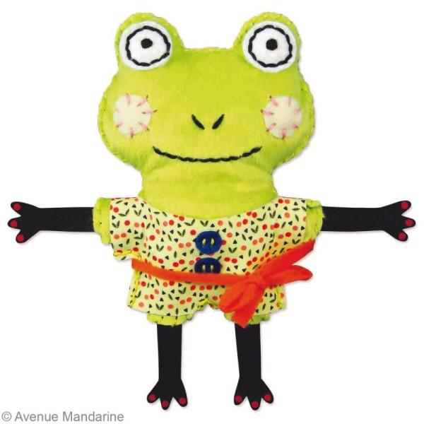 Kit créatif Little Couz'in Gaby la grenouille - Photo n°3